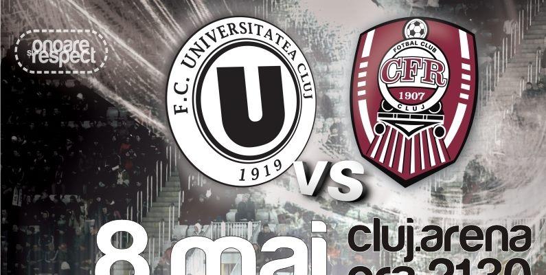 U Cluj – CFR Cluj