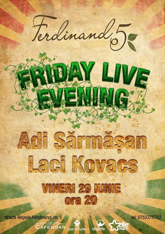 Friday Live Evening @ Ferdinand 5