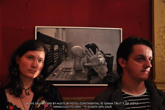Poze: aLive exhibition by meste @ Hotel Continental