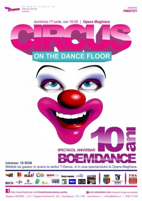 Circus on the Dance Floor @ Opera Maghiara