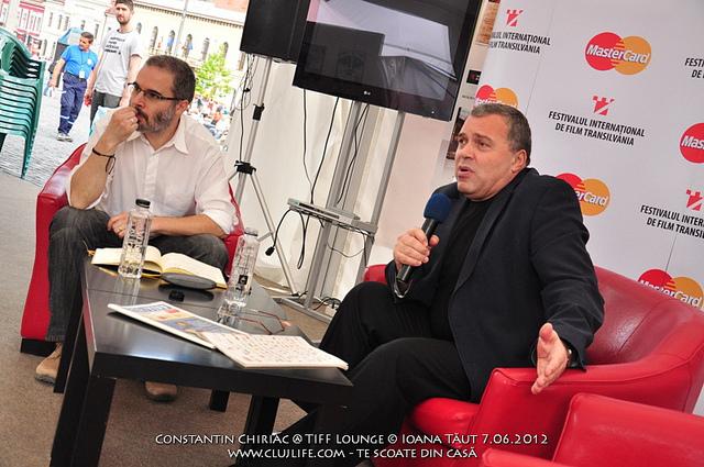 Poze: Constantin Chiriac @ TIFF Lounge