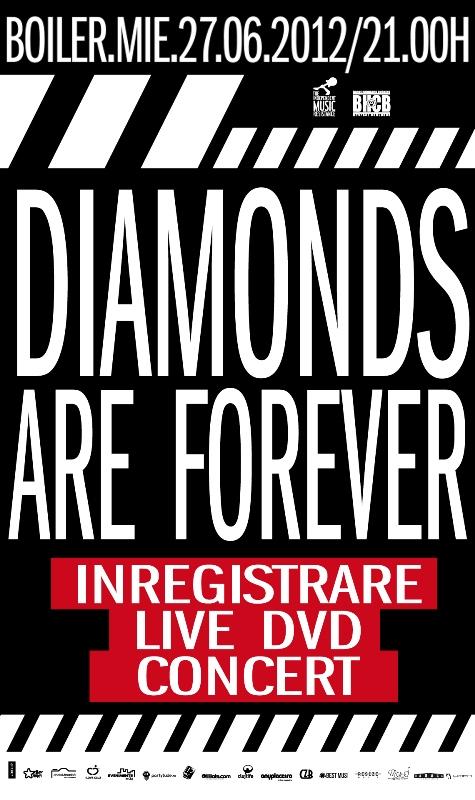 Diamonds Are Forever – filmare live dvd concert