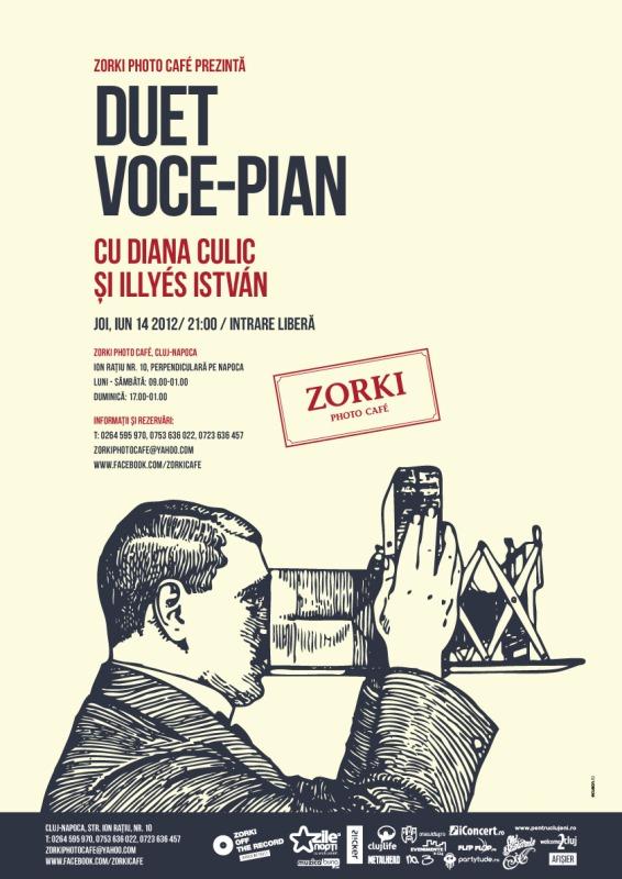 Diana Culic și Illies Istvan @ Zorki Cafe