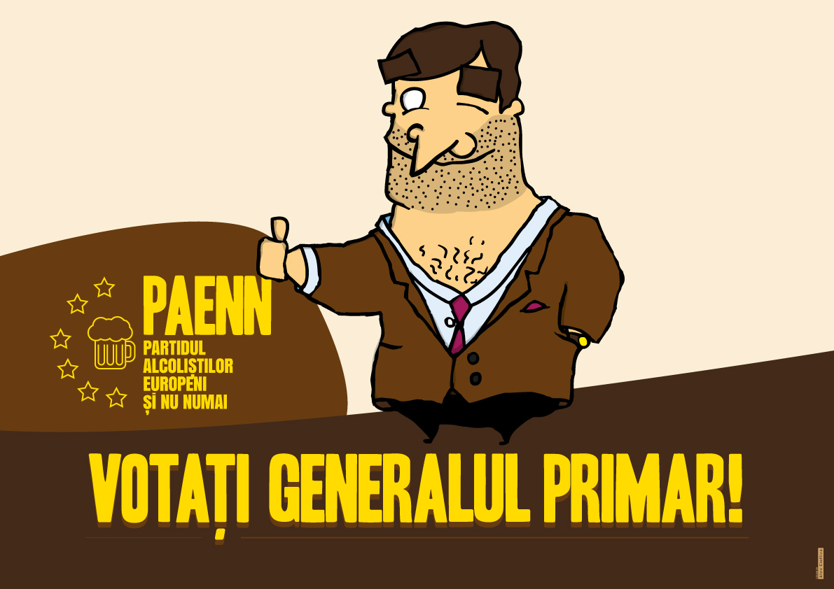 Voteaza Generalul Primar!