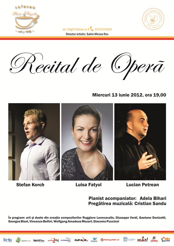 Recital de Opera @ Piano Cazola