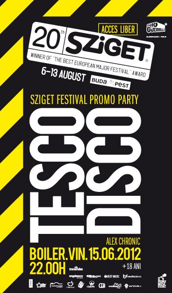 Tesco Disco @ Boiler Club