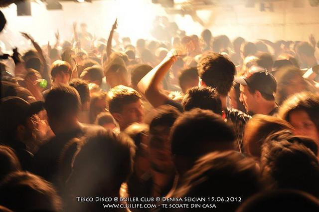 Poze: Tesco Disco @ Boiler Club
