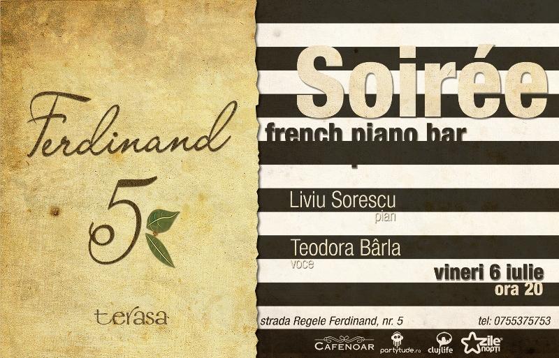 Soiree french piano bar @ Ferdinand 5