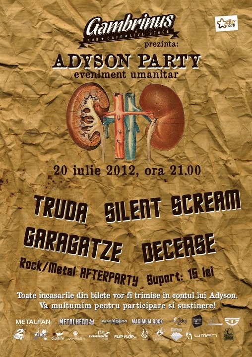 Adyson Party – eveniment umanitar