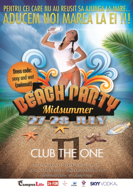 Beach Party @ Club The One