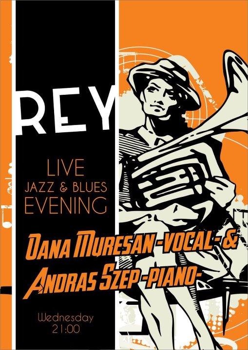 Jazz & Blues Night @ REY Bar