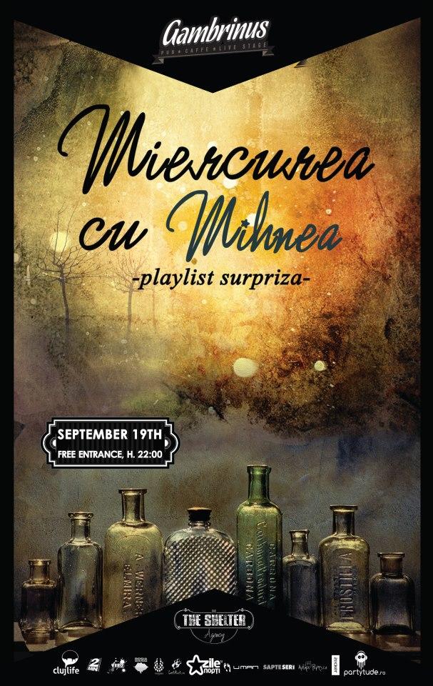 Miercurea cu Mihnea @ Gambrinus Pub