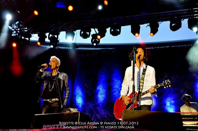 Poze: Roxette @ Cluj Arena