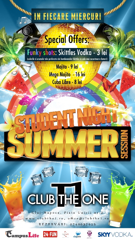 Student Party – Summer Edition @ The One