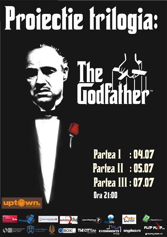 "Proiectie ""The Godfather"" @ Uptown Arts Caffee"