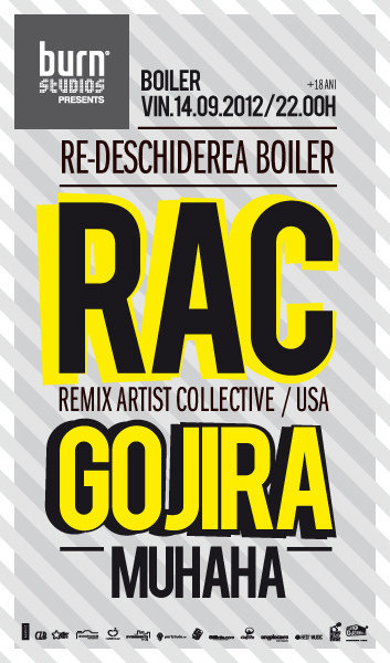 RAC & Gojira @ Boiler Club