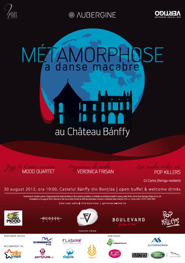 Métamorphose – a danse macabre au Château Bánffy