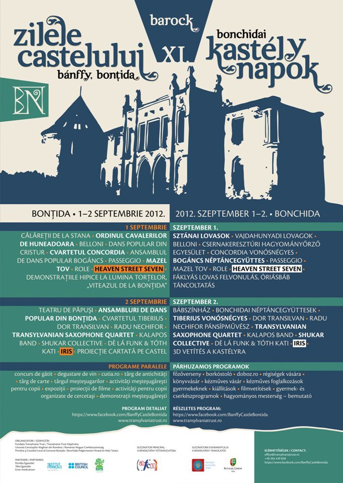 Zilele Castelului Banffy – Bontida