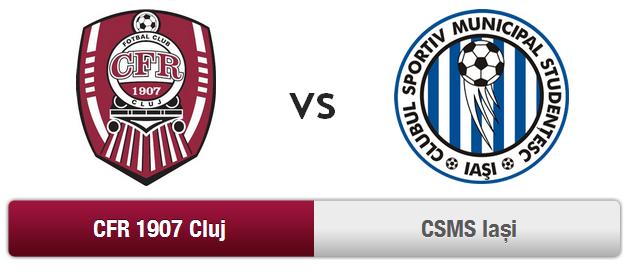 "CFR Cluj – CSMS Iasi @ Stadion ""Dr. Constantin Rădulescu"""