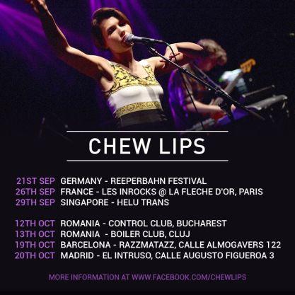 Chew Lips @ Boiler Club