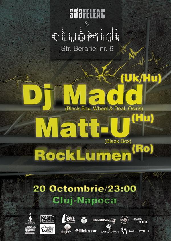 DJ Madd / Matt-U @ Club Midi