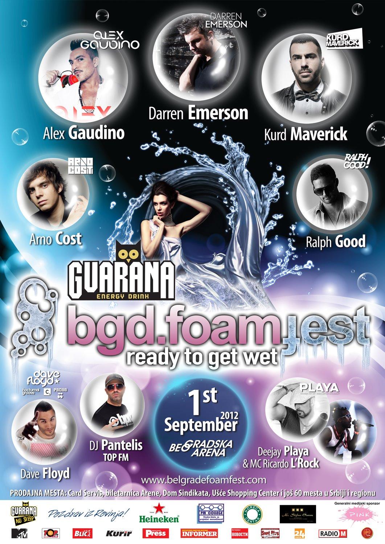 Foam Fest 2012 @ Belgrad, Serbia