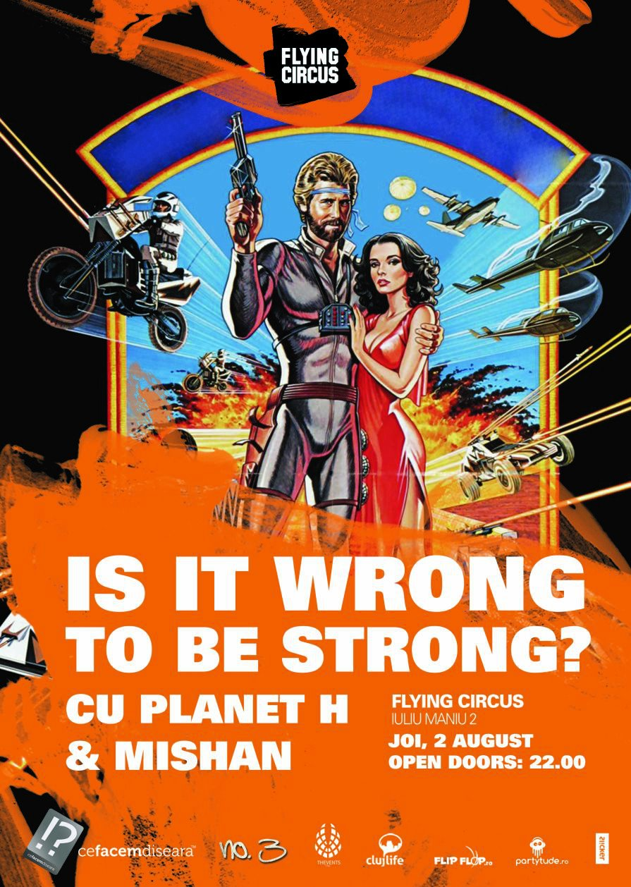 Is it wrong to be strong? @ Flying Circus Pub