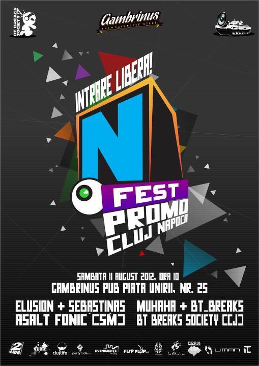 N-Fest Promo Party @ Gambrinus Pub