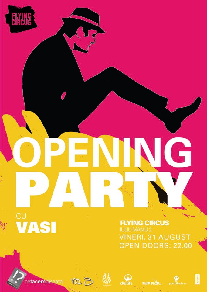Opening Party @ Flying Circus Pub