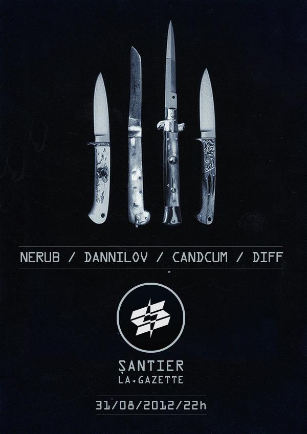 Nerub / NDJ / Candcum / DIFF @ La Gazette