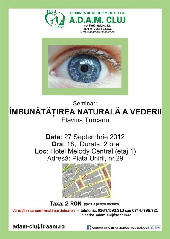 Seminar: Imbunatatirea naturala a vederii