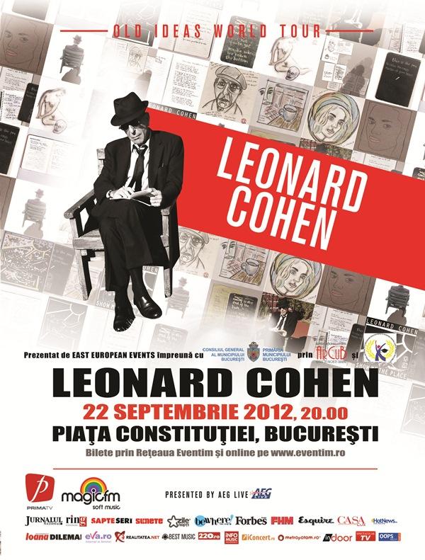 Leonard Cohen @ Piața Constituției, București