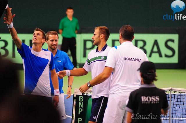 Poze: Cupa Davis @ Sala Sporturilor