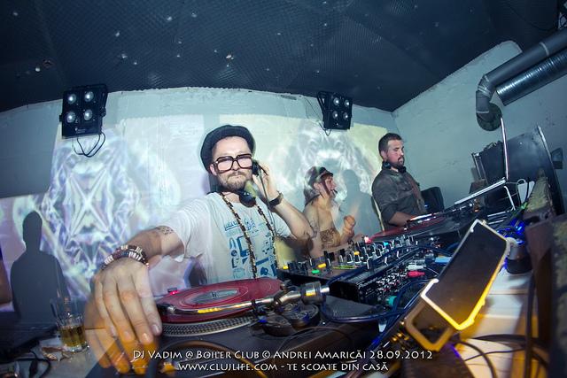 Poze: DJ Vadim @ Boiler Club