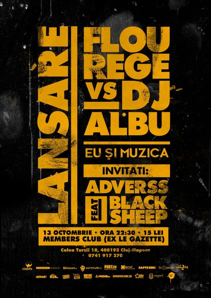 Flou Rege vs DJ Al*Bu @ Members Club