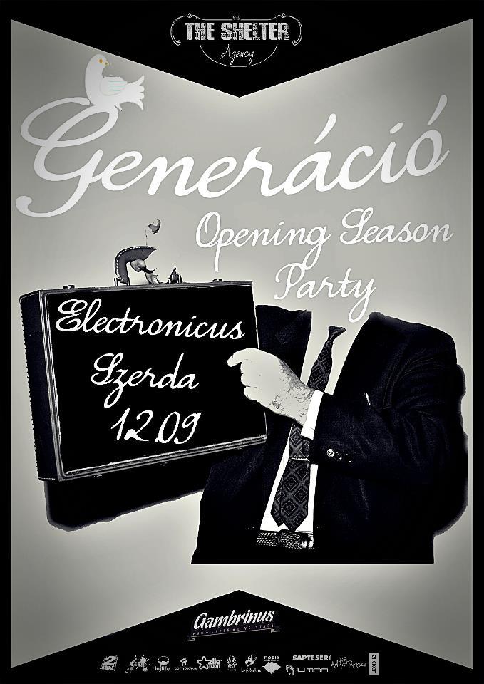 Generacio – Electro Funky Jazz-Swing Opening