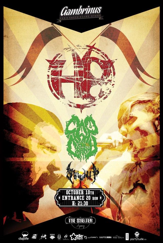 H8 / Cap de craniu / Skullp @ Gambrinus Pub