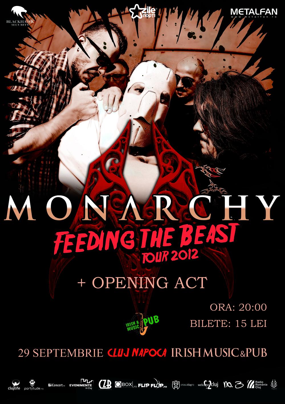 Monarchy @ Irish & Music Pub