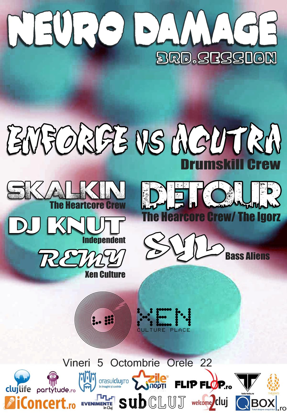 Neuro Damage Fest @ Club Xen