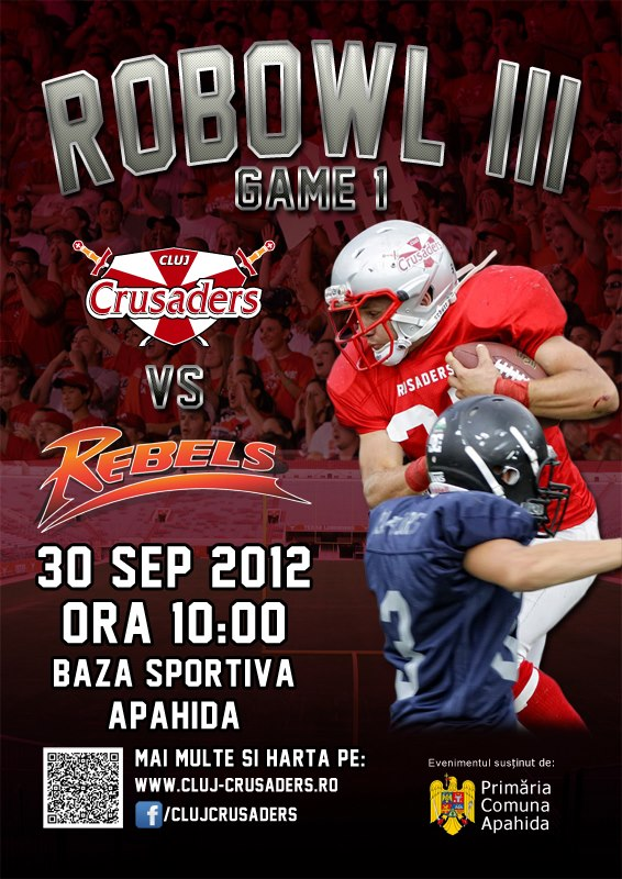 Cluj Crusaders vs Rebels @ Apahida