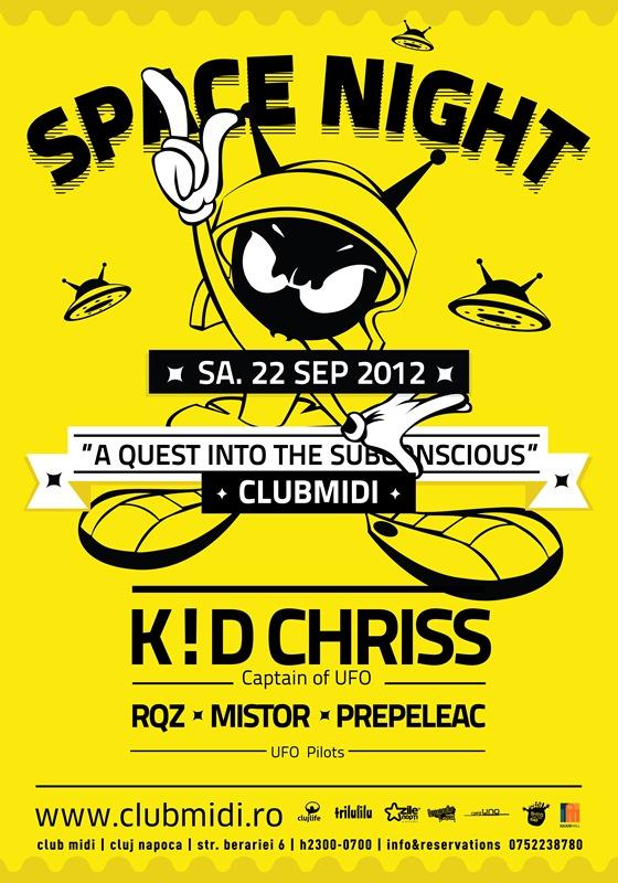 Space Night @ Club Midi