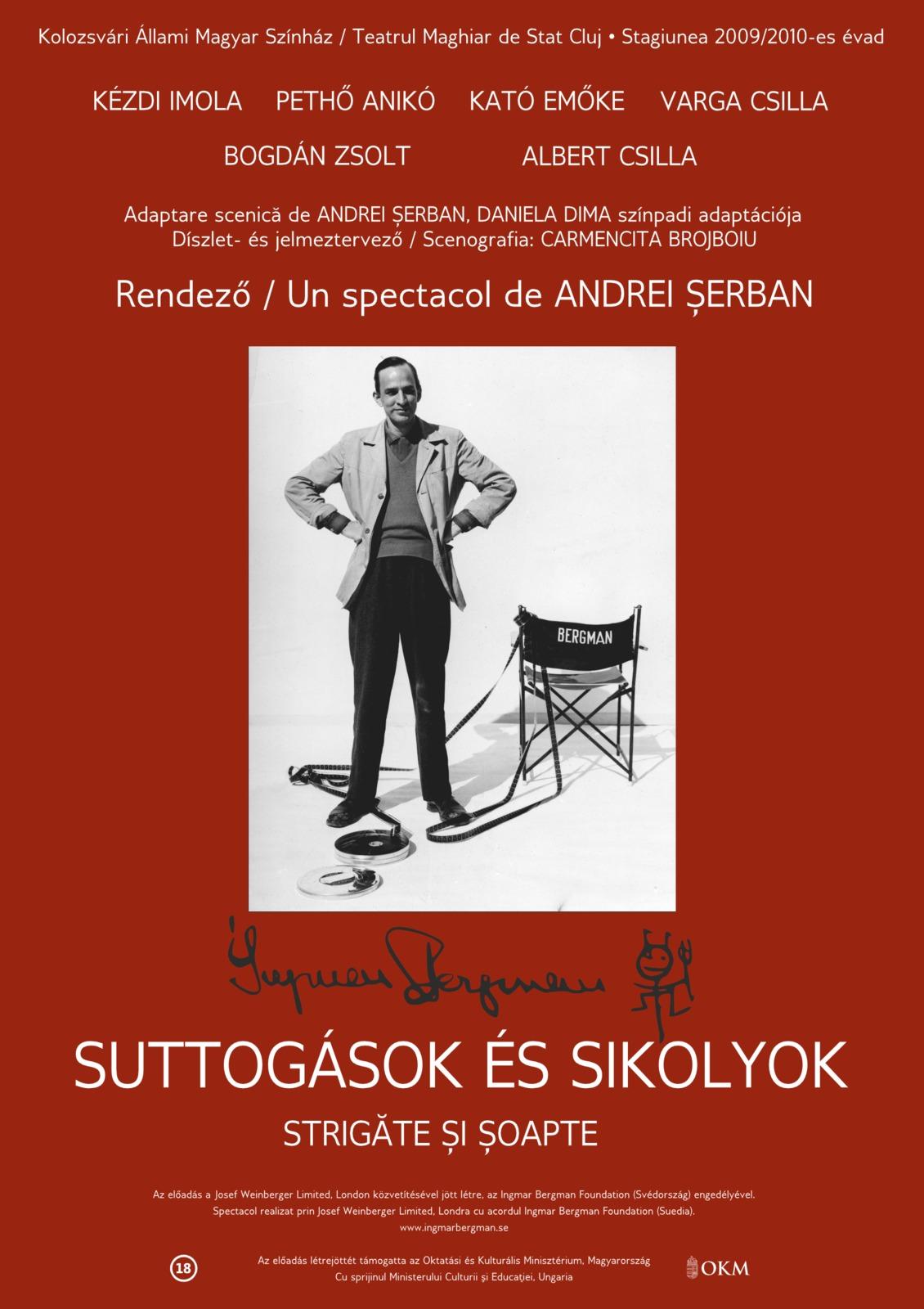 Strigăte şi şoapte @ Teatrul Maghiar