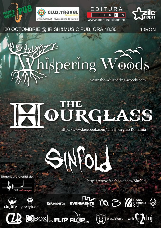 Sinfold, The Hourglass & Whispering Woods