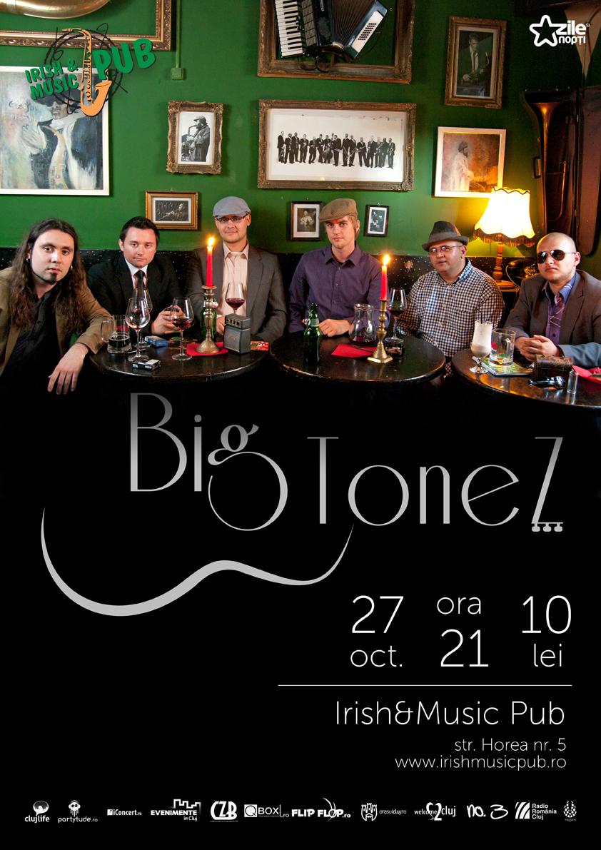 BigToneZ @ Irish & Music Pub