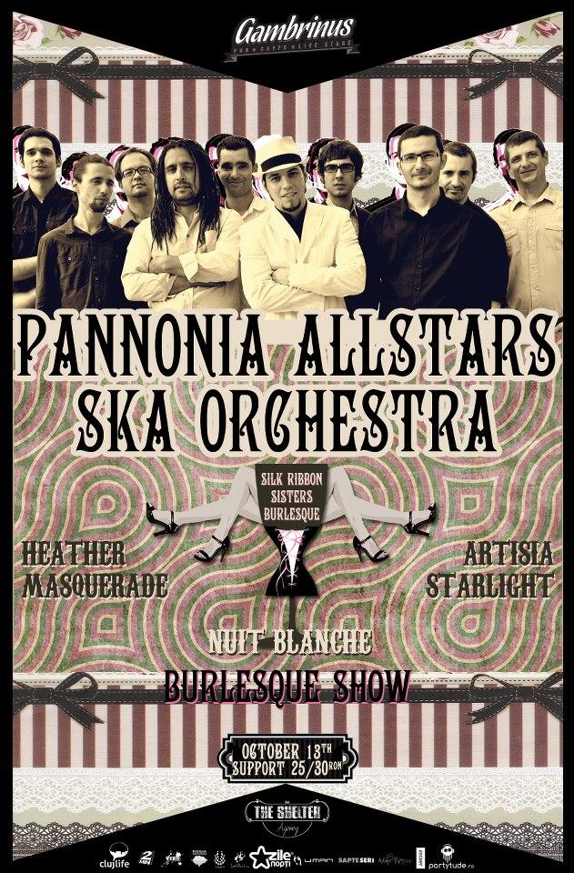 Pannonia Allstars Ska Orchestra @ Gambrinus Pub