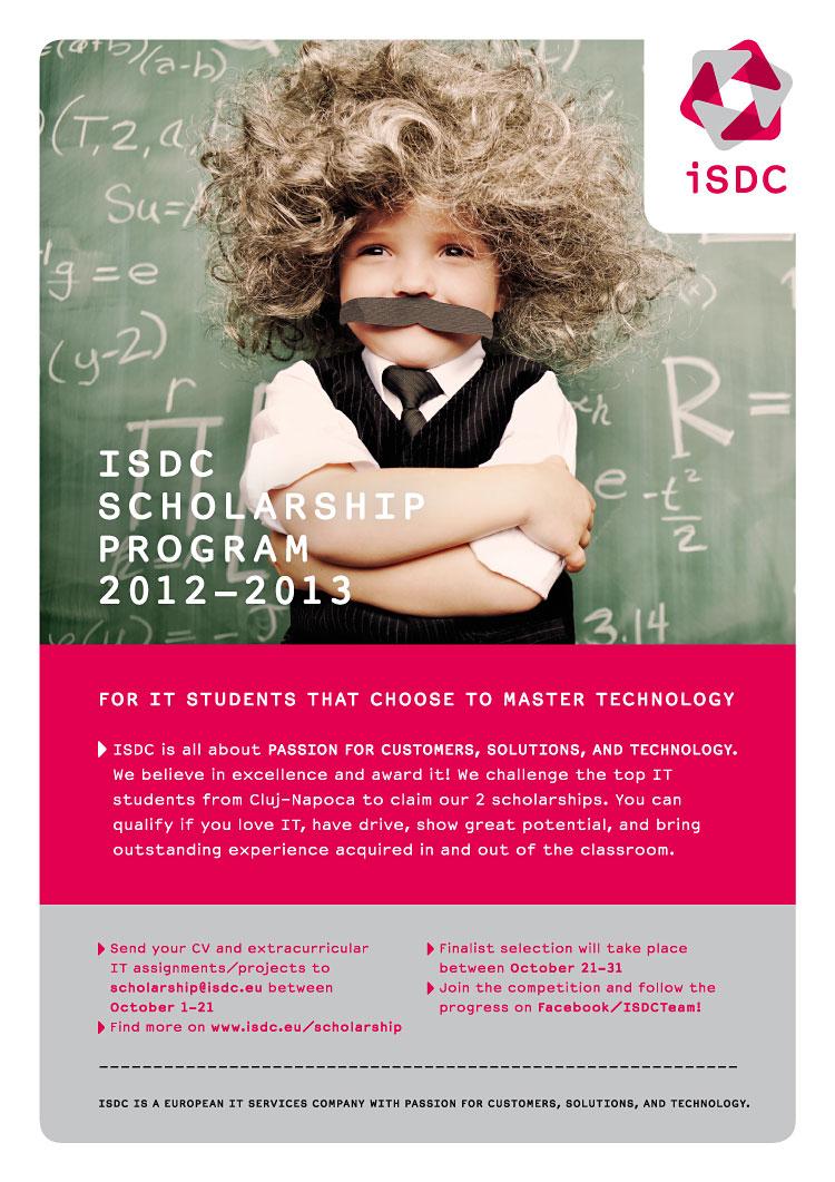 Burse de excelenţă ISDC pentru studenţi în IT