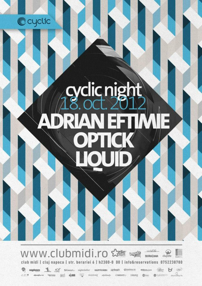 Adrian Eftimie, Optick si Liquid @ Club Midi