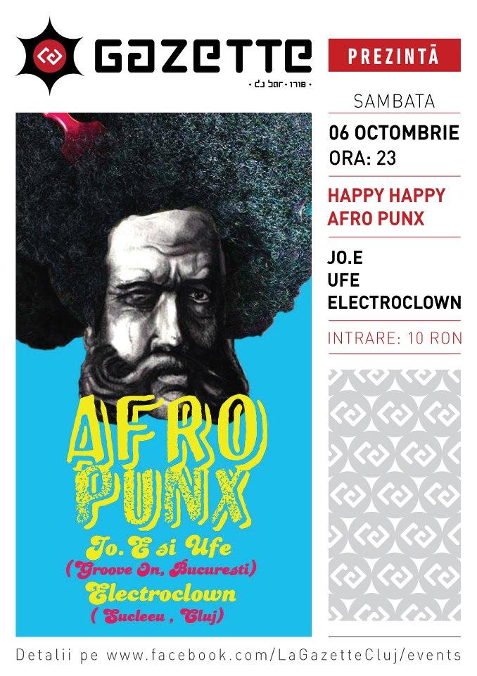 Afro punx @ La Gazette