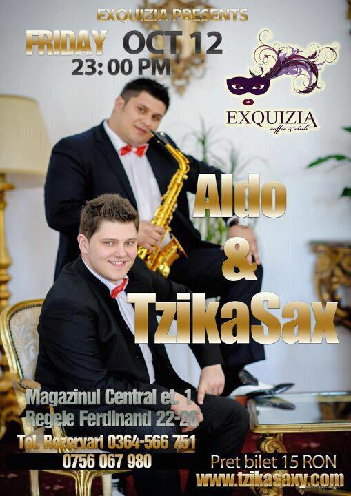 Aldo & Tzikasax @ Exquizia