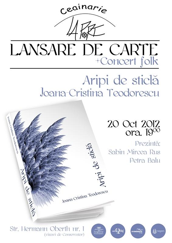 Lansare de carte + concert folk @ Ceainaria La Port